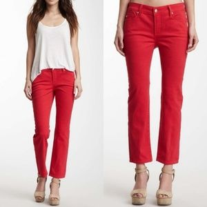 NYDJ Alisha Coral Slim Cut Leg Ankle Jeans 2